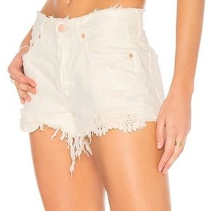 NWT Free People Daisy Chain Lace Shorts
